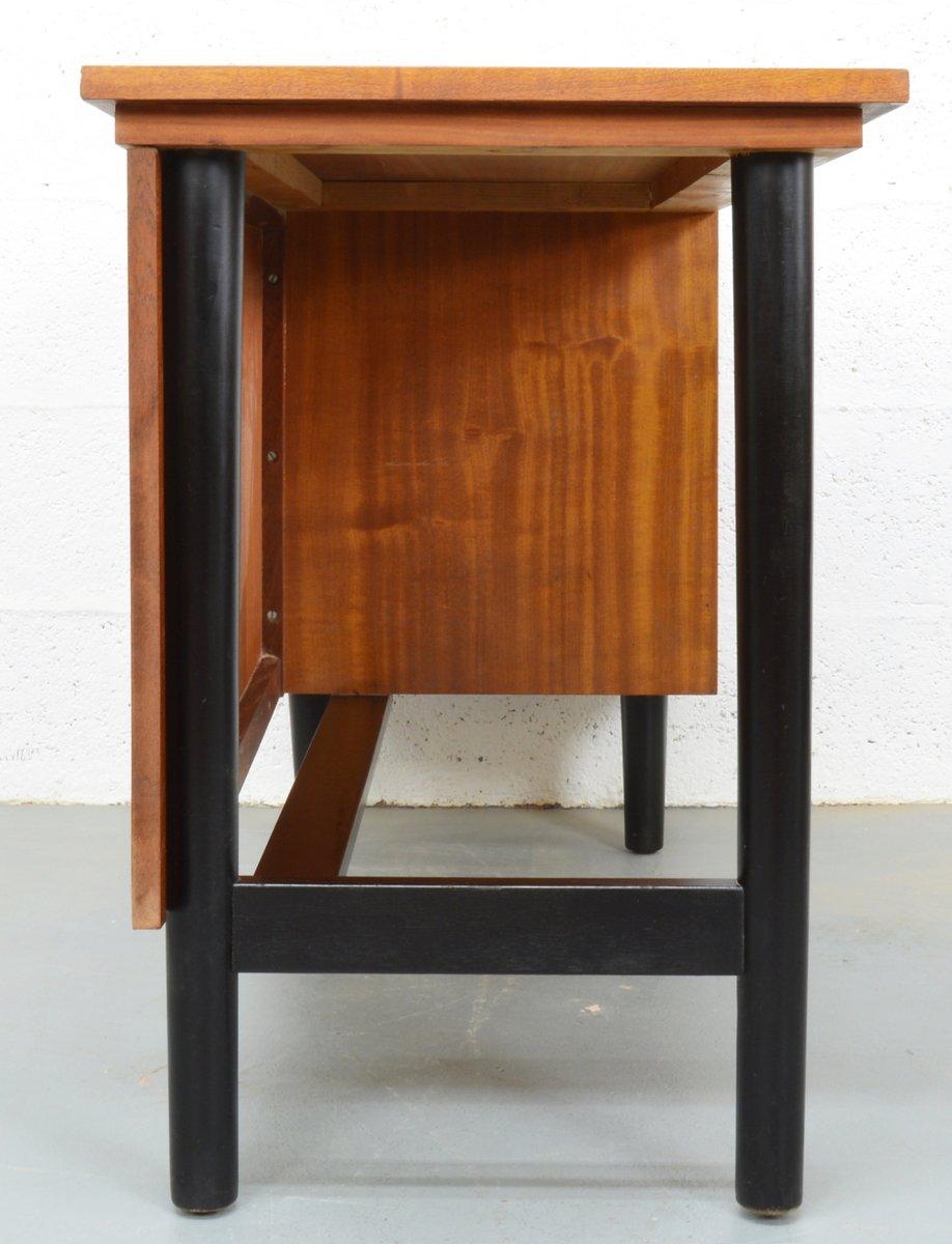 vintage teak schreibtisch 1980er bei pamono kaufen. Black Bedroom Furniture Sets. Home Design Ideas