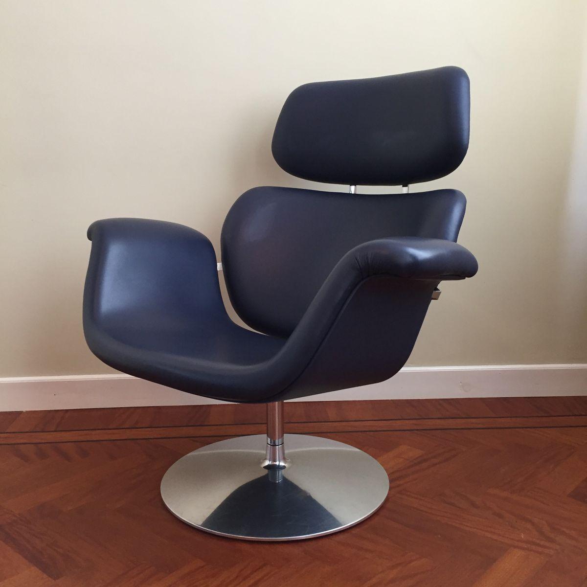 grande chaise tulipe par pierre paulin pour artifort 1980s en vente sur pamono. Black Bedroom Furniture Sets. Home Design Ideas