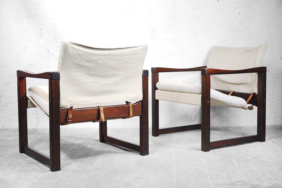 skandinavische diana safari sessel von karin mobring f r ikea 1972 4er set bei pamono kaufen. Black Bedroom Furniture Sets. Home Design Ideas