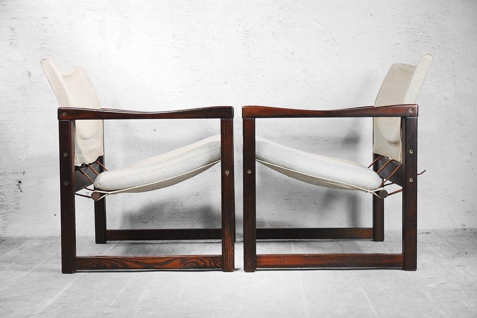Sessel ikea  Scandinavian Diana Safari Canvas Chairs by Karin Mobring for Ikea ...