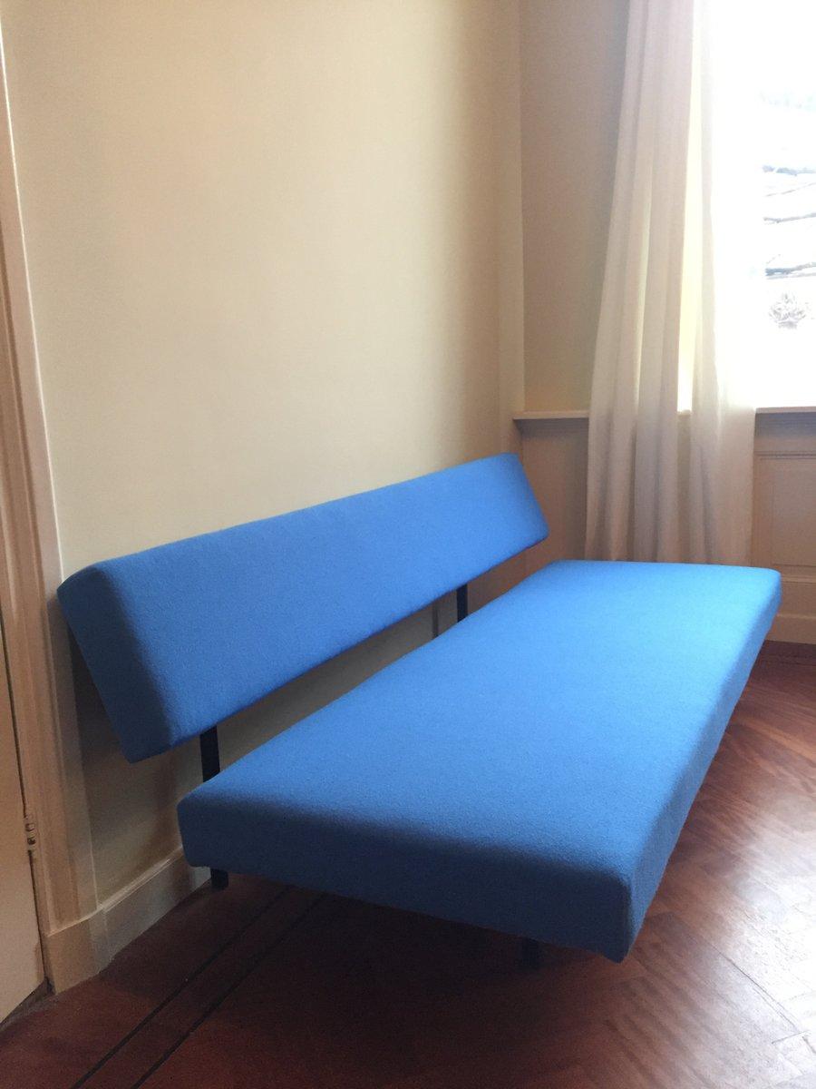 blaues schlafsofa von martin visser f r 39 t spectrum bei. Black Bedroom Furniture Sets. Home Design Ideas