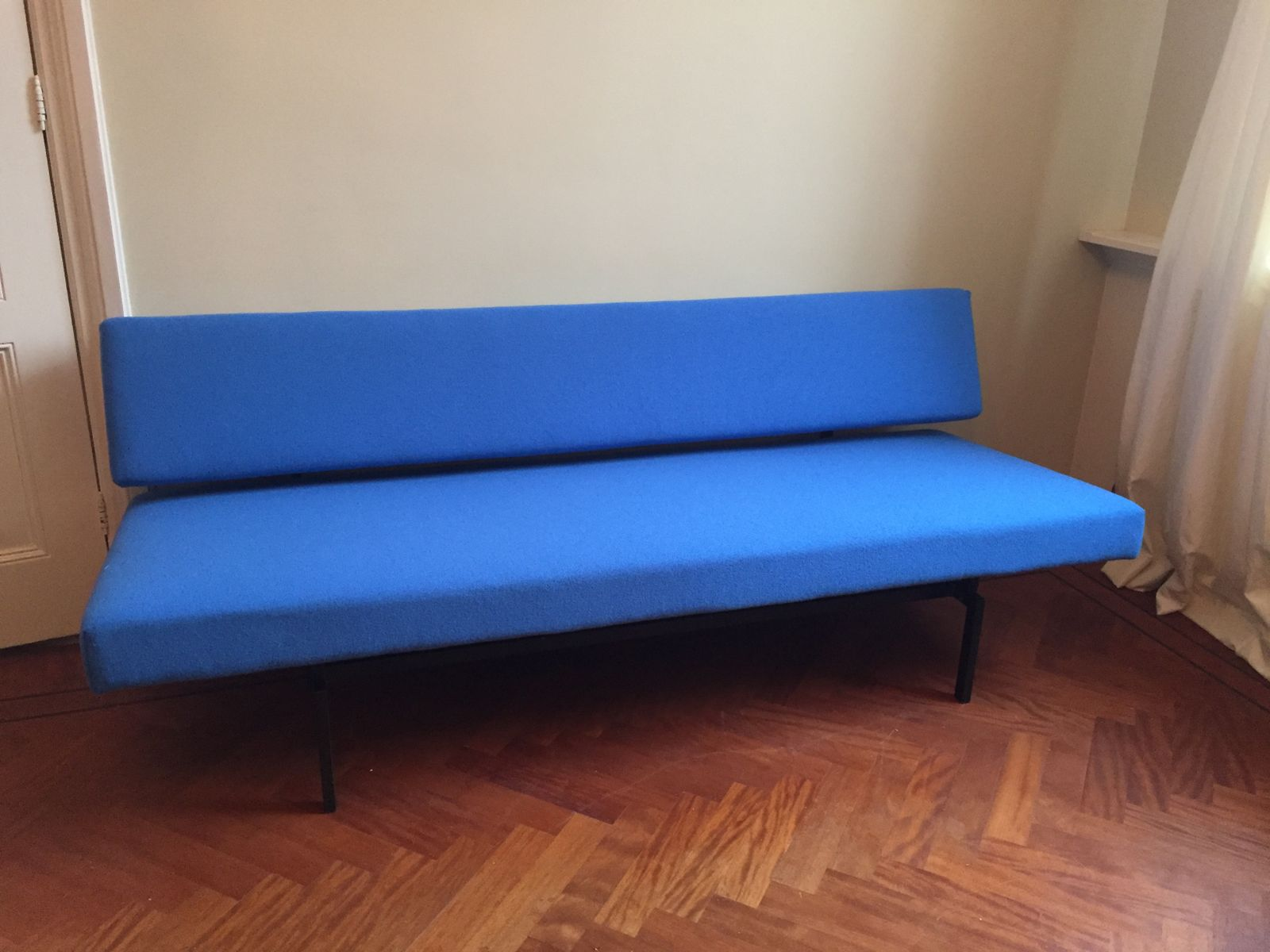 Blue sofa bed by martin visser for 39 t spectrum for sale at for Blue sofas for sale