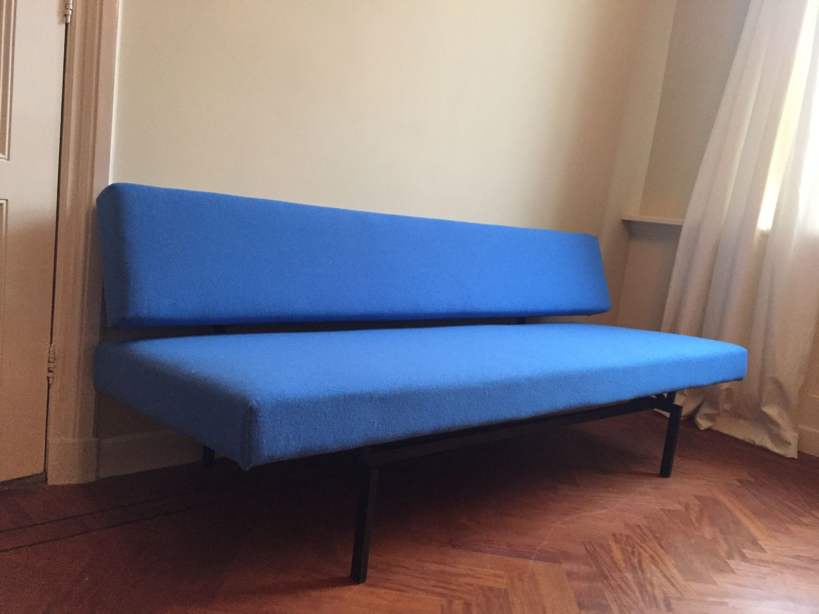 Blue sofa bed by martin visser for 39 t spectrum for sale at for Blue couches for sale