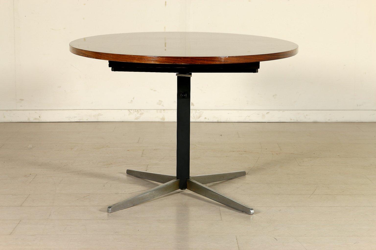 h henverstellbarer tisch 1960er bei pamono kaufen. Black Bedroom Furniture Sets. Home Design Ideas