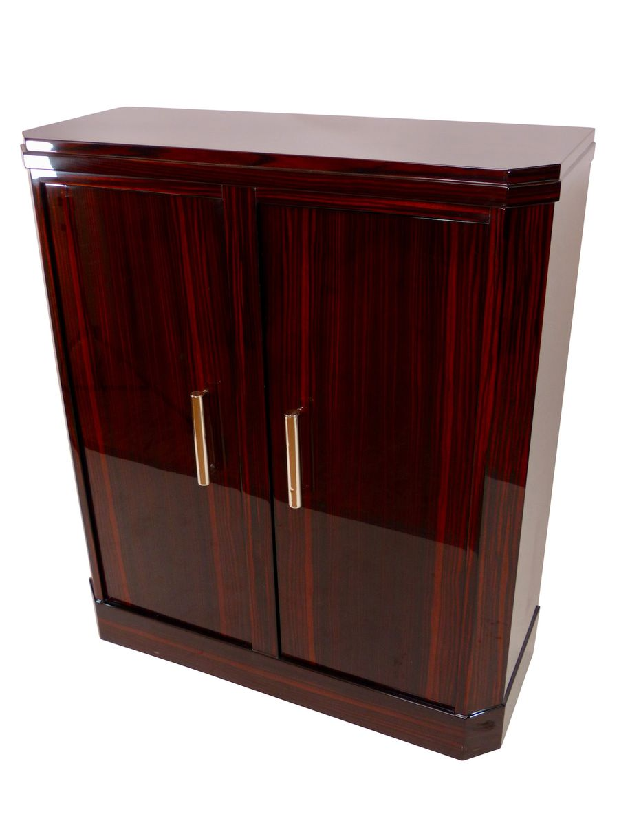 Two door macassar cabinet 1930s for sale at pamono for 1930s kitchen cabinets for sale