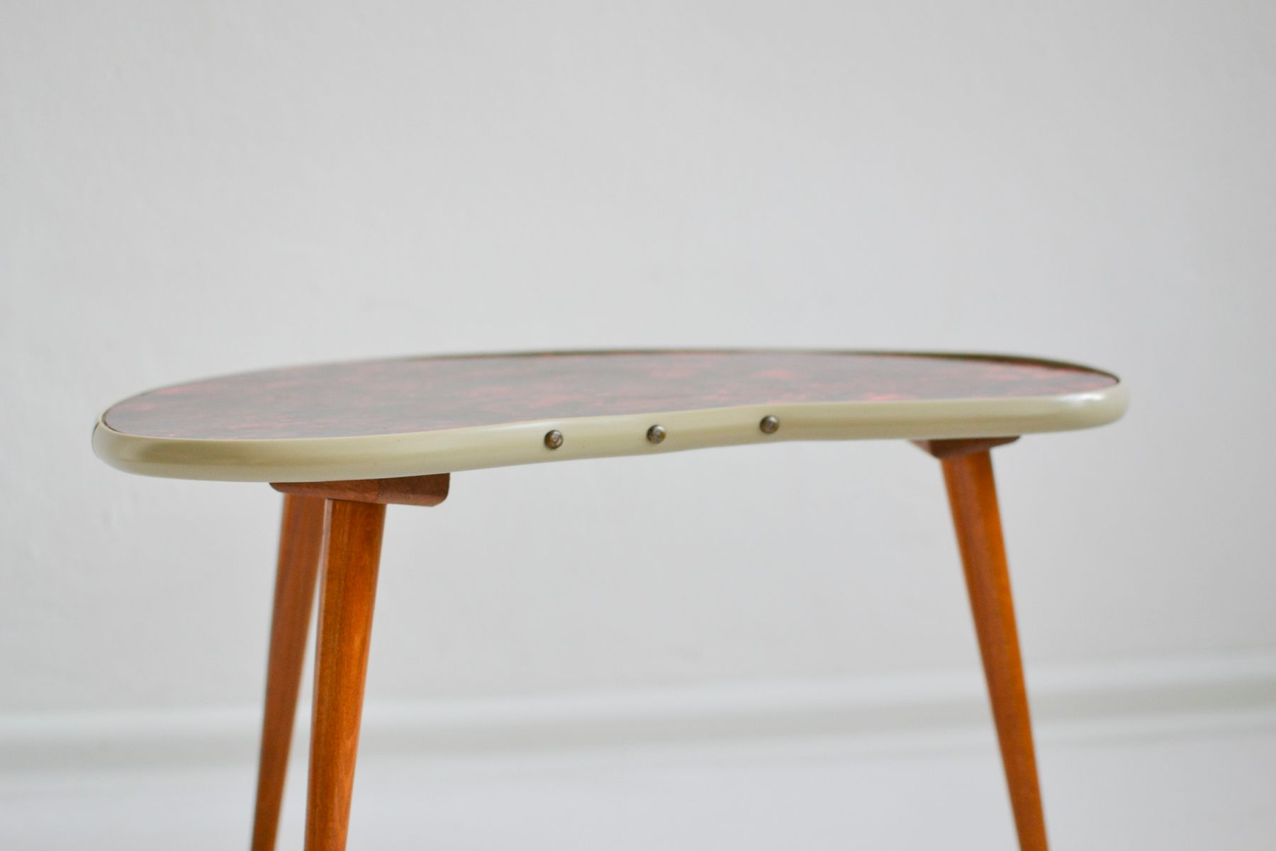 Vintage Pearloid Kidney Coffee Table 1960s For Sale At Pamono