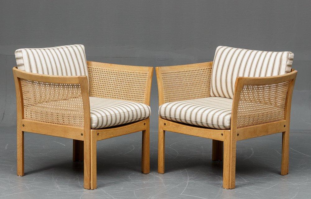 Plexus Armchair In Oak By Illum Wikkels 248 For Cfc Silkeborg