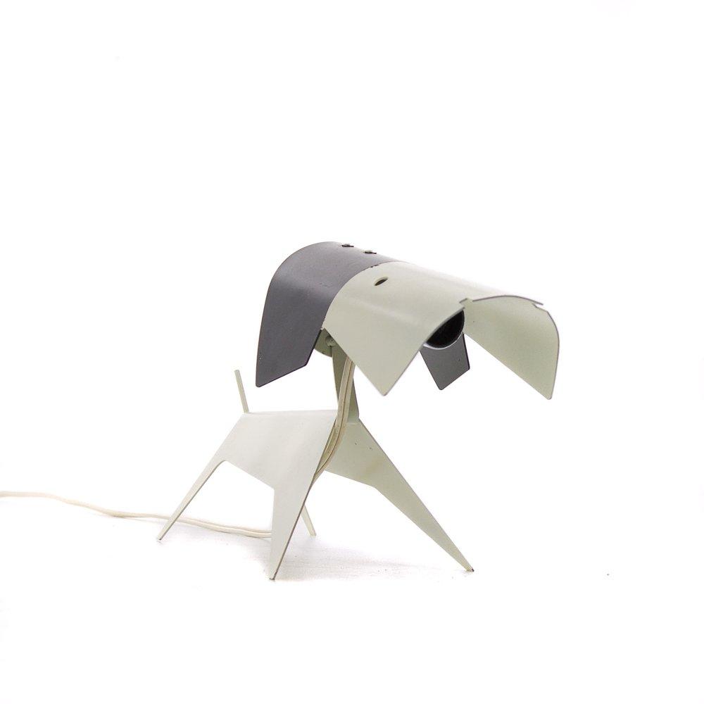 lampe chien vintage par jean boris lacroix pour disderot 1950s en vente sur pamono. Black Bedroom Furniture Sets. Home Design Ideas