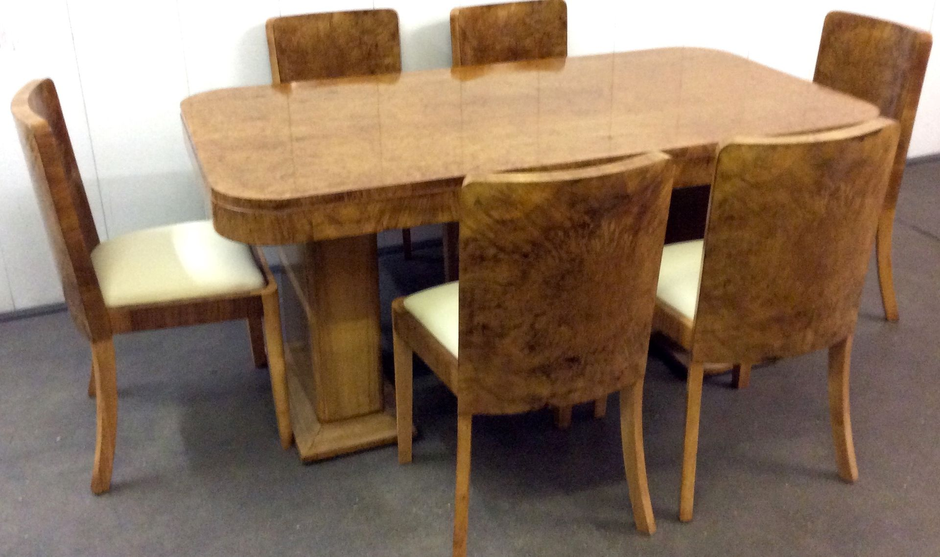 Art Deco Dining Set by Harry & Lou Epstein 1930s for sale at Pamono