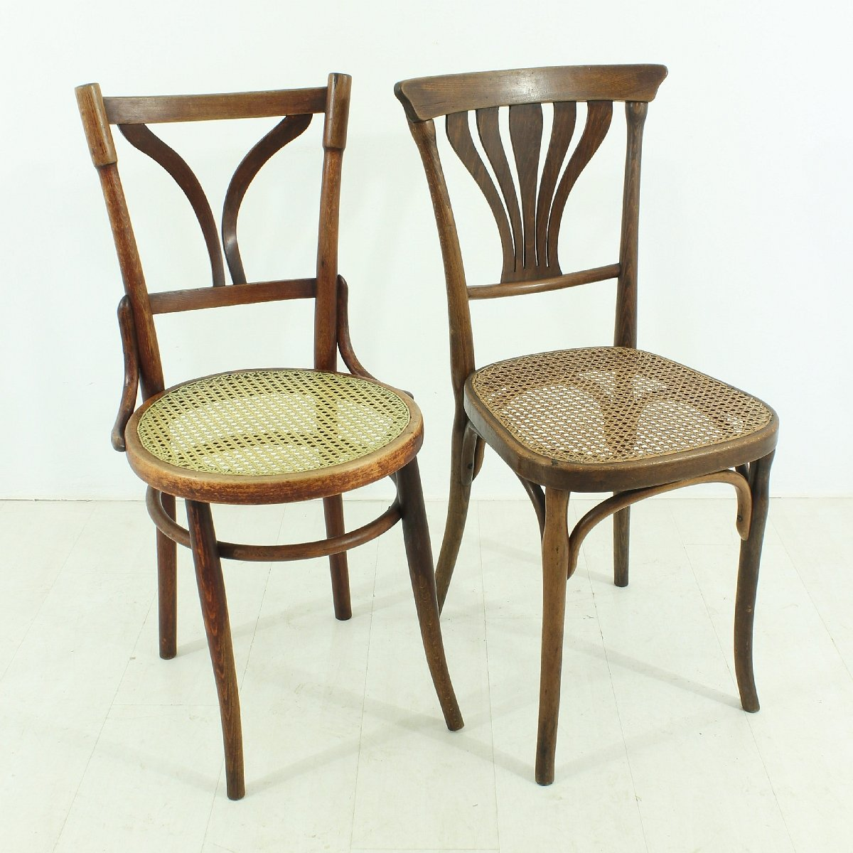 - Antique Bentwood Bistro Chairs, Set Of 2 For Sale At Pamono
