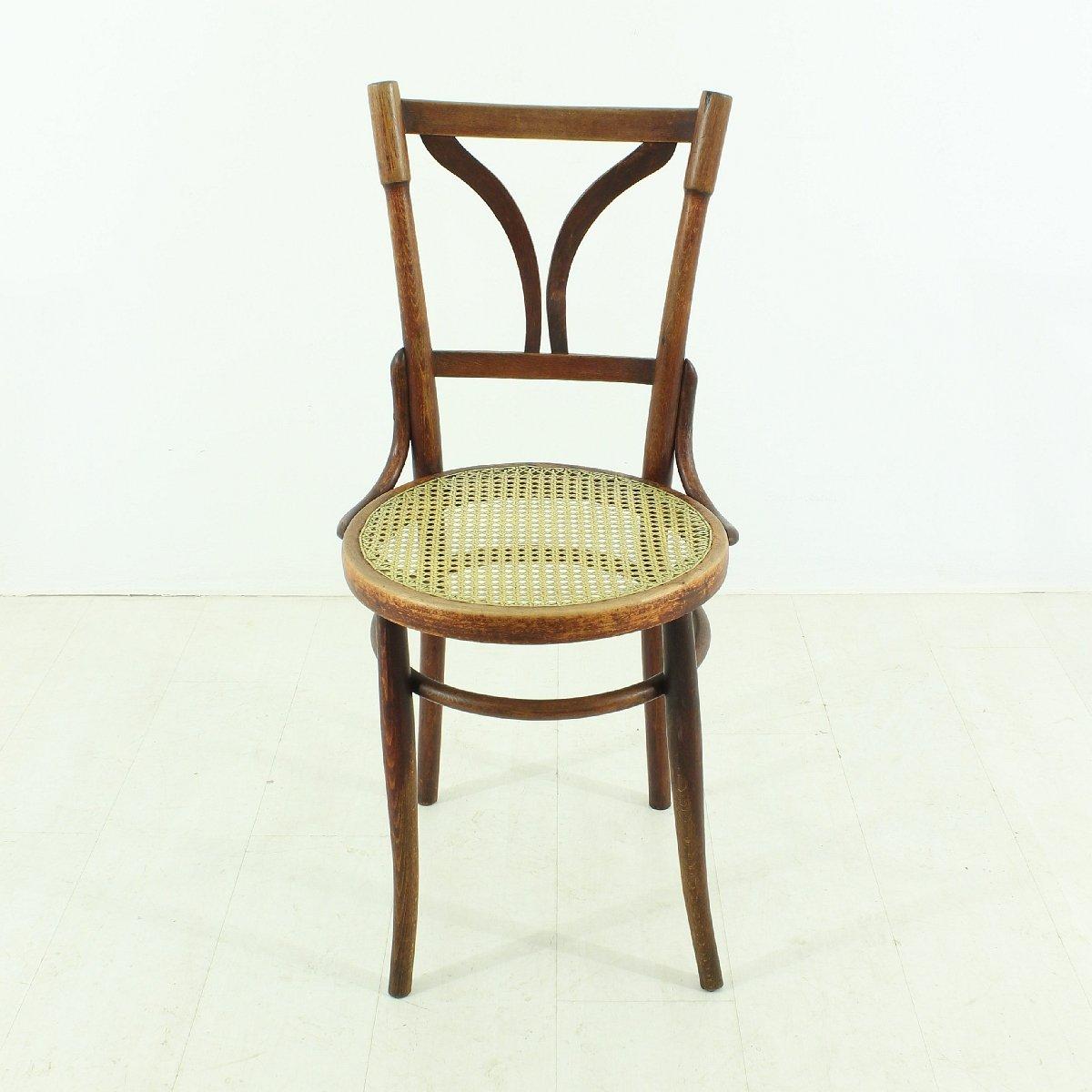 Bentwood bistro chair - Antique Bentwood Bistro Chairs Set Of 2