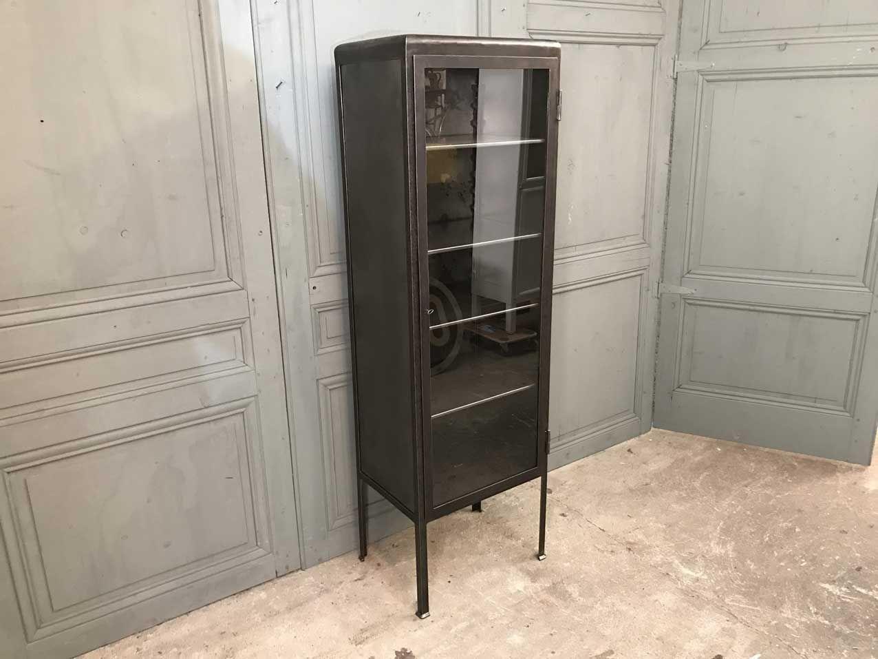 petit meuble m dicaments vitrine 1950s en vente sur pamono. Black Bedroom Furniture Sets. Home Design Ideas