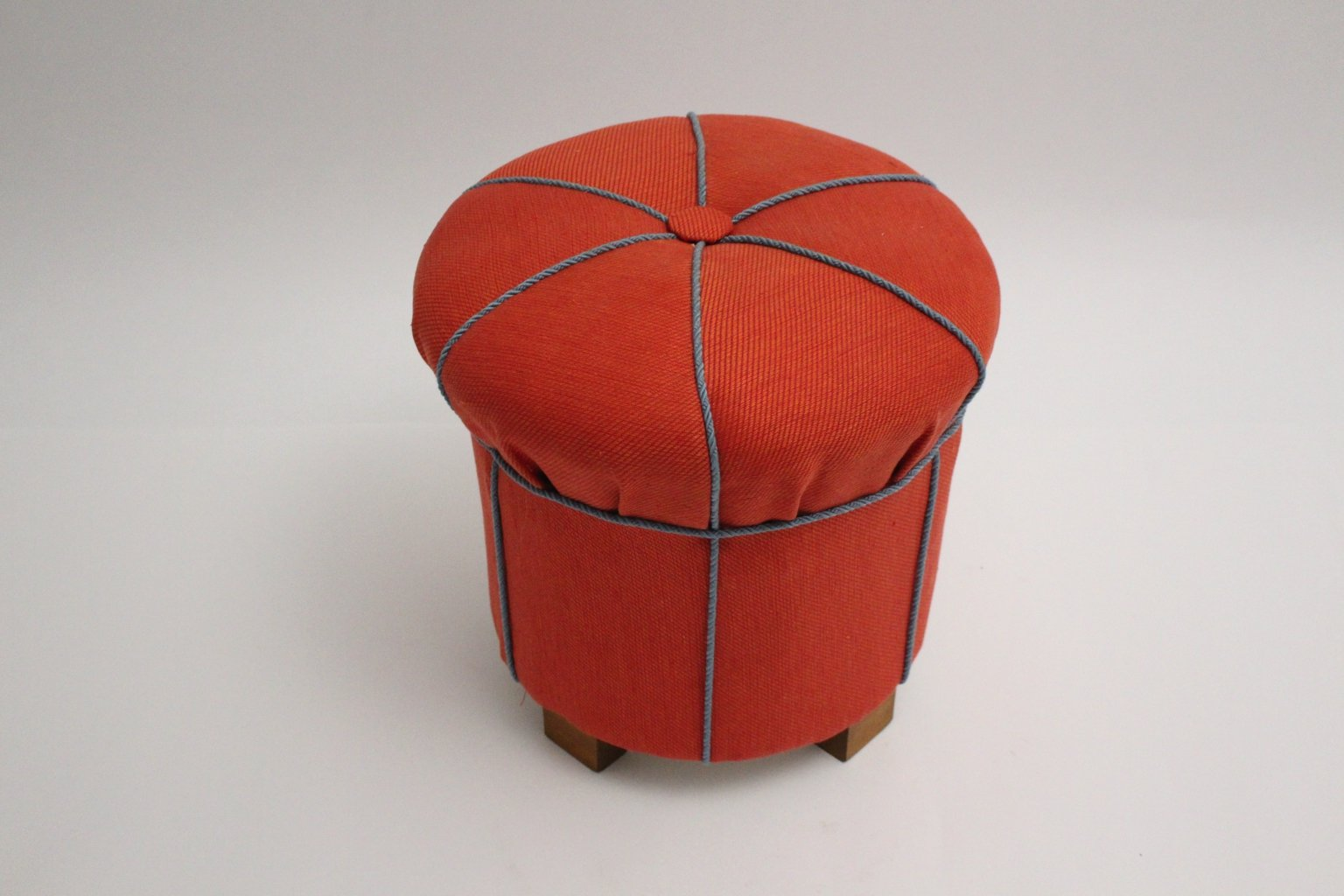 art deco pouf 1930s for sale at pamono. Black Bedroom Furniture Sets. Home Design Ideas
