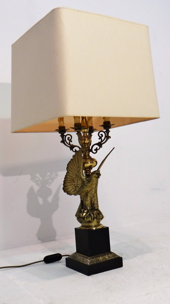 Mid-Century Eagle Lamp from Deknudt for sale at Pamono