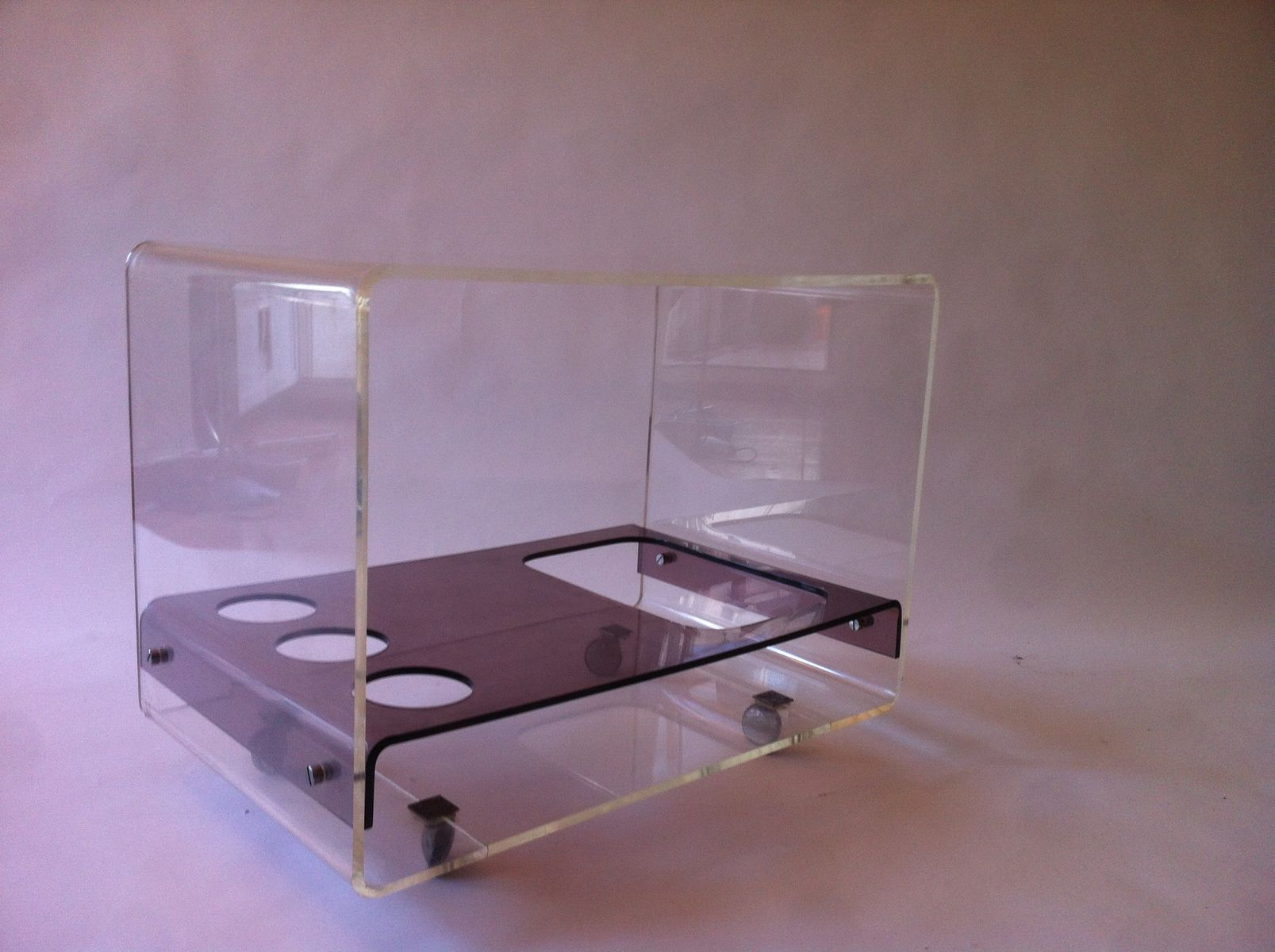 spanischer vintage plexiglas barwagen 1960er bei pamono. Black Bedroom Furniture Sets. Home Design Ideas