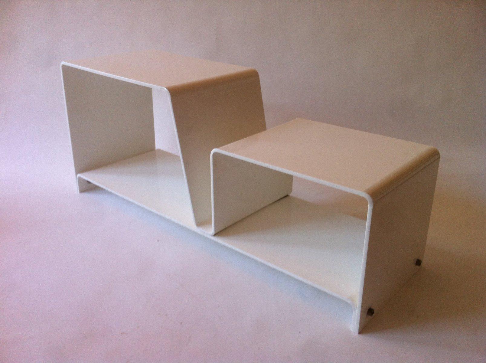 wei es vintage regal im space age stil 1960er bei pamono. Black Bedroom Furniture Sets. Home Design Ideas
