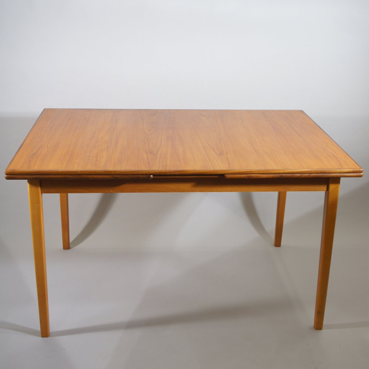Vintage Scandinavian Teak Extendable Dining Table For Sale At Pamono