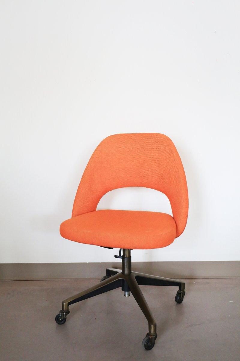 Chair saarinen executive chair - Vintage Executive Swivel Chair By Eero Saarinen For Knoll 1970s