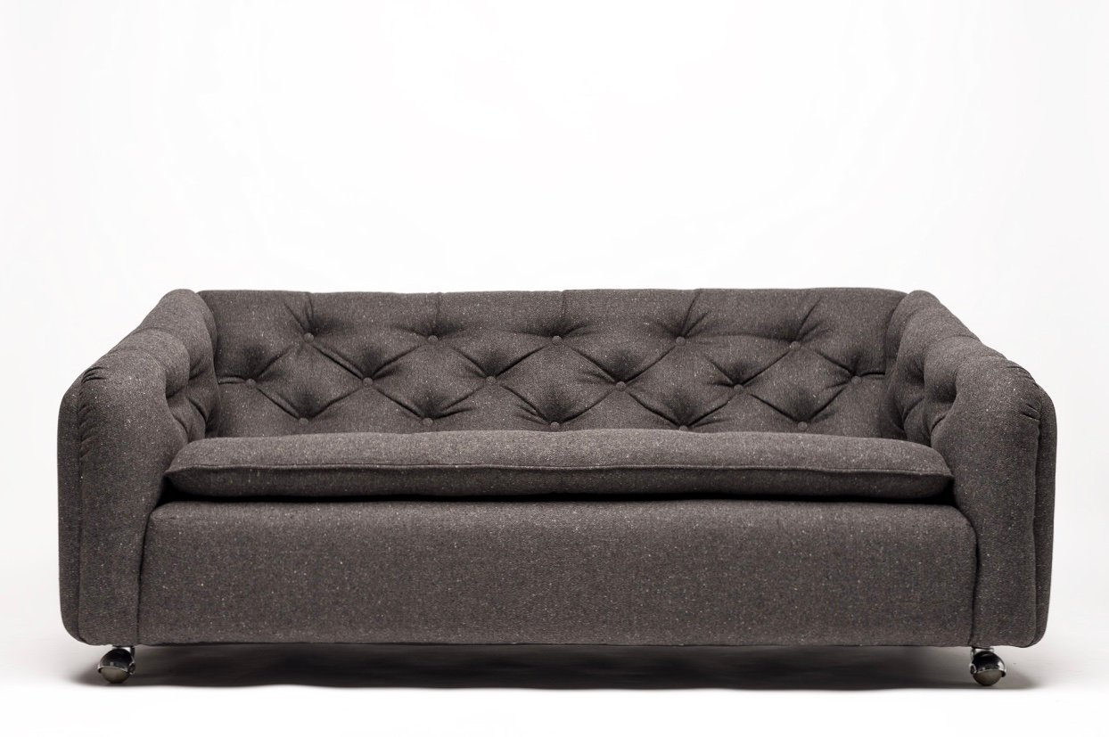Vintage Model C610 Two Seater Sofa By Geoffrey Harcourt For Artifort