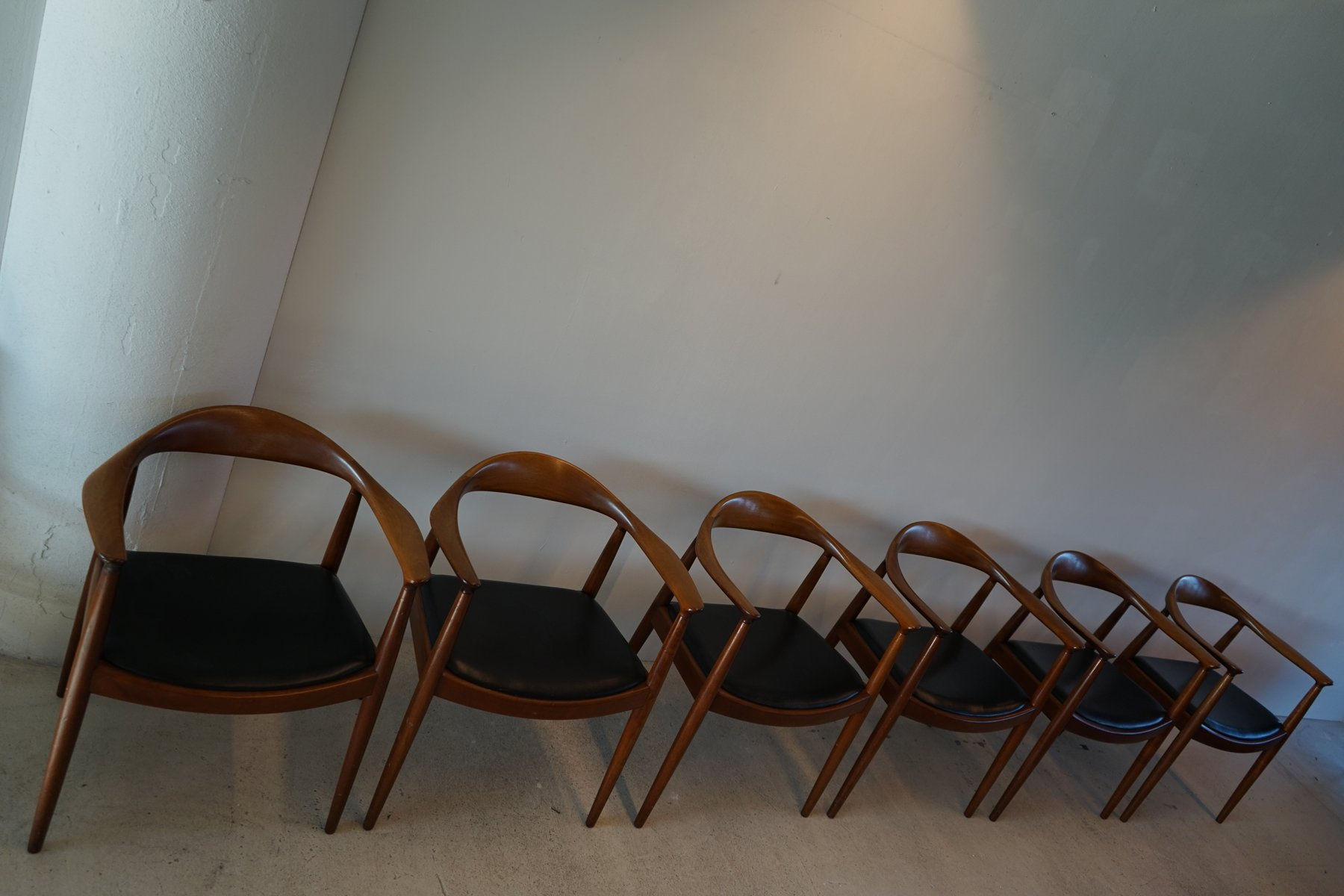The Chair 503 Armchairs by Hans J Wegner for Johannes Hansen Set