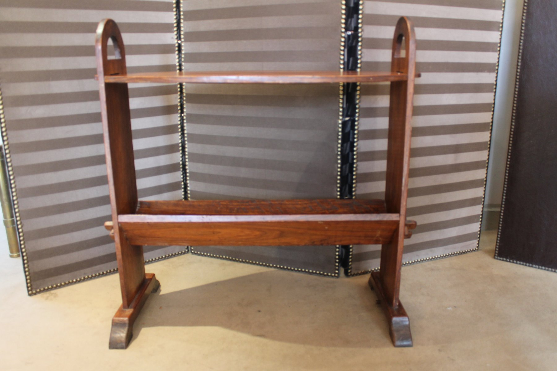 Arts and crafts console table 1920s for sale at pamono for Arts and crafts sofa table