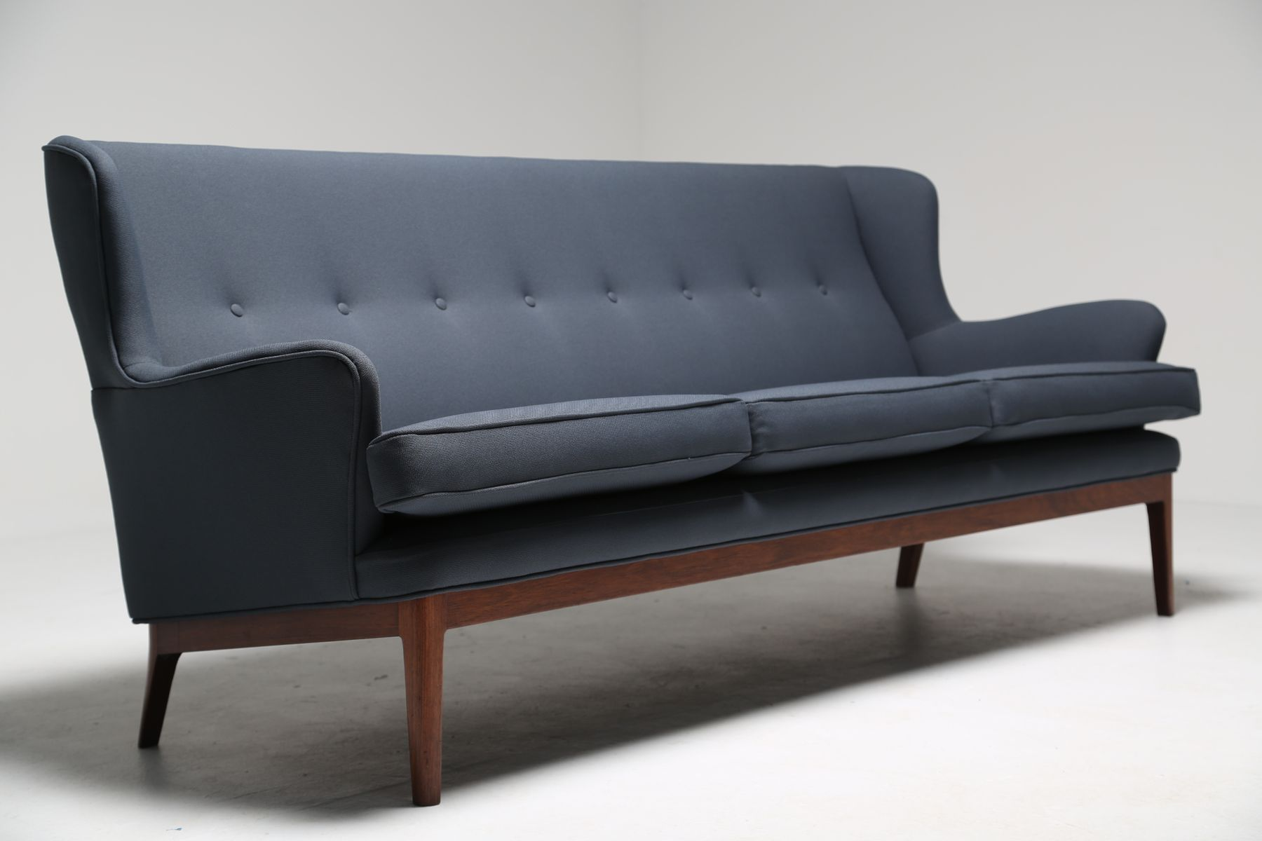 Mid Century Winged Sofa from Arne Norell 1960s for sale at Pamono