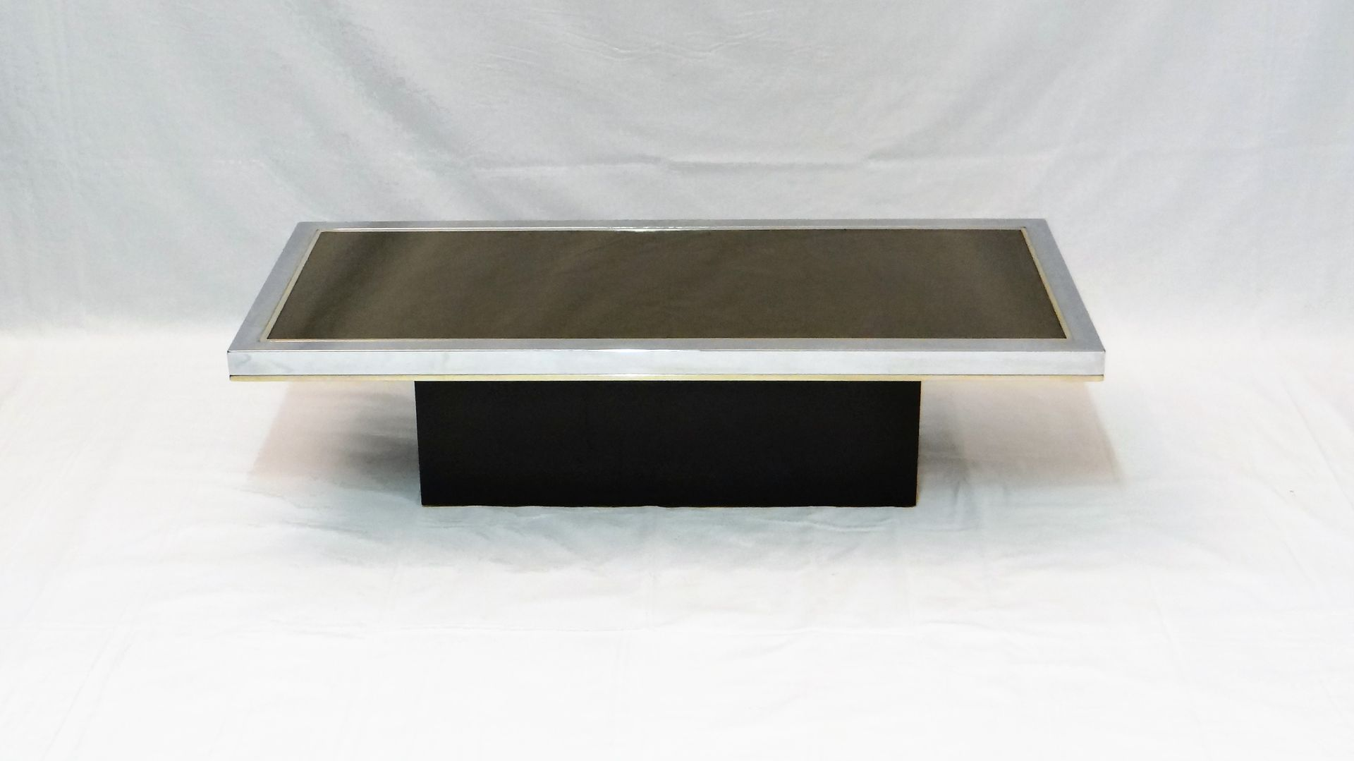 Vintage Mirrored Coffee Table By Roger Vanhevel, 1970s 6. $947.00. Price  Per Piece