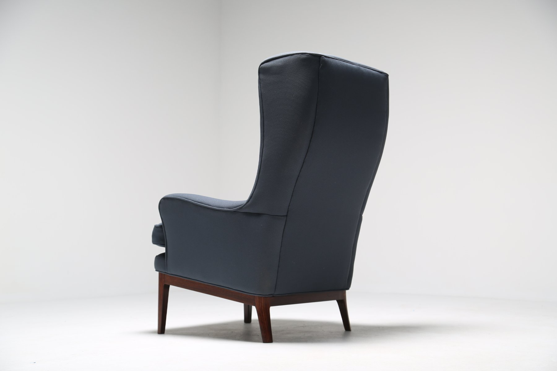 Danish modern wingback chair - Mid Century Modern Wing Chair From Arne Norell