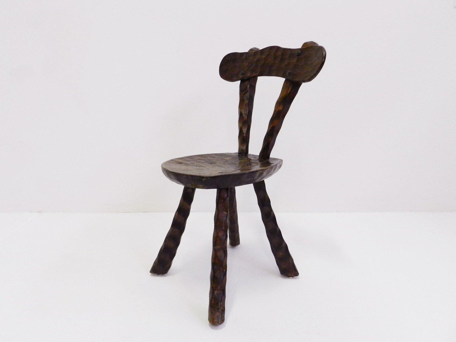 Sedia Vintage In Legno Svizzera In Vendita Su Pamono