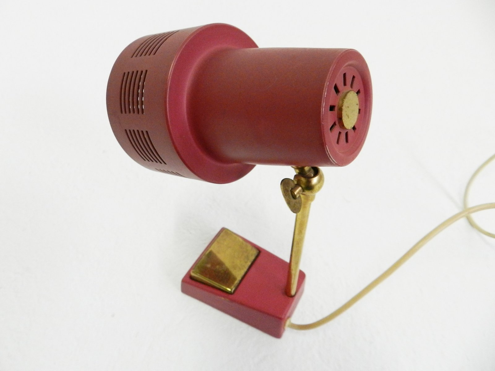 kleine verstellbare vintage tischlampe bei pamono kaufen. Black Bedroom Furniture Sets. Home Design Ideas