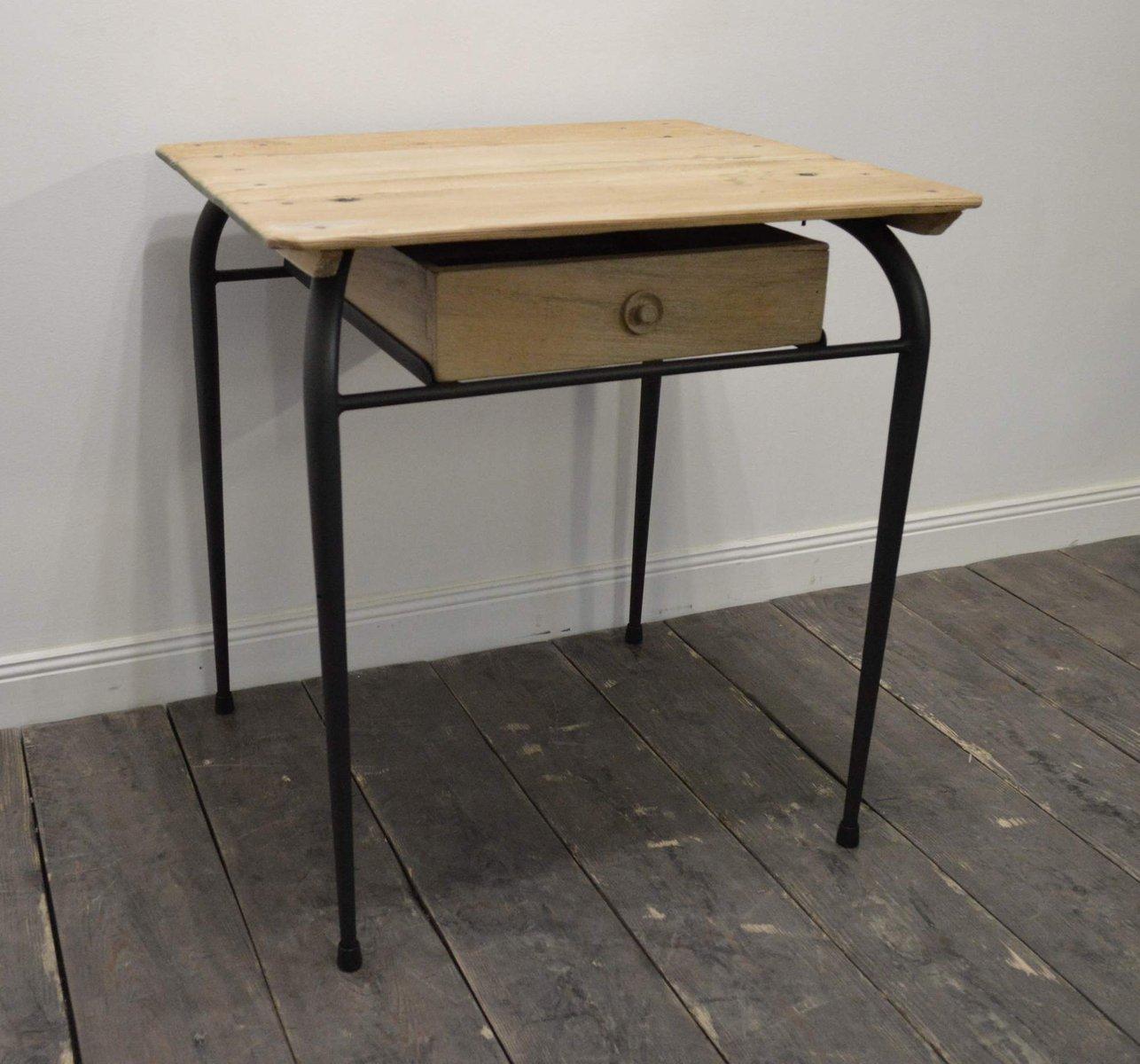 petit bureau vintage france 1950s en vente sur pamono. Black Bedroom Furniture Sets. Home Design Ideas
