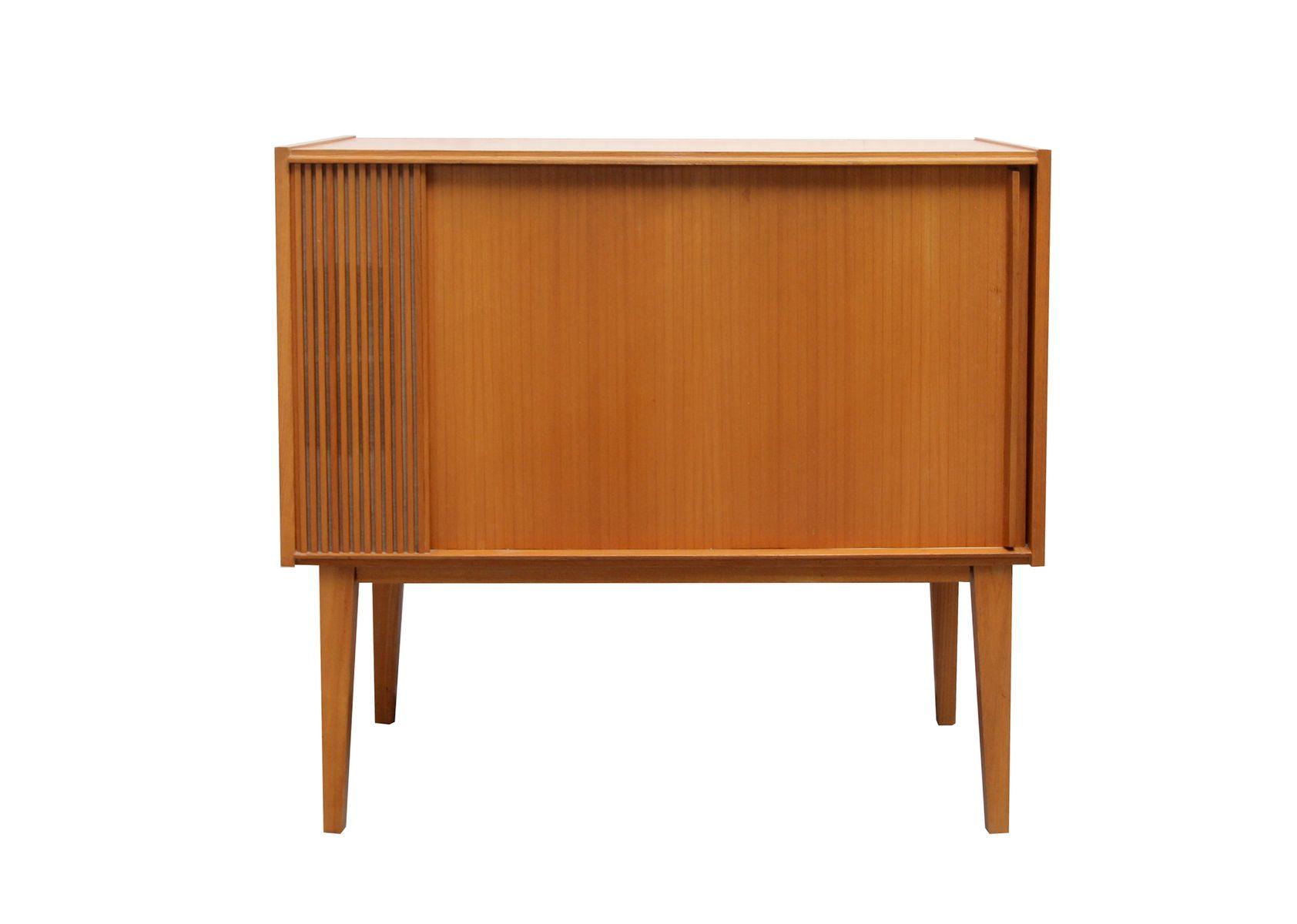 kleiner vintage barschrank aus kirschholz bei pamono kaufen. Black Bedroom Furniture Sets. Home Design Ideas