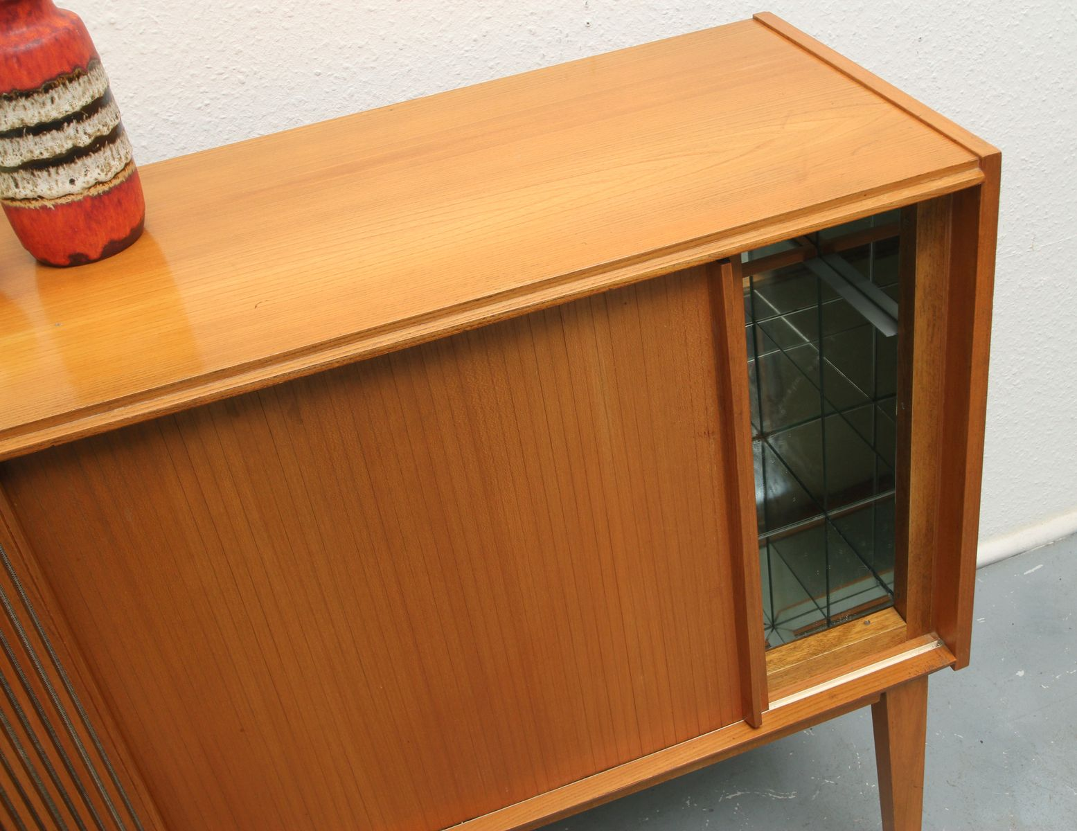 Cherry Bar Cabinet Vintage Small Cherry Bar Cabinet For Sale At Pamono