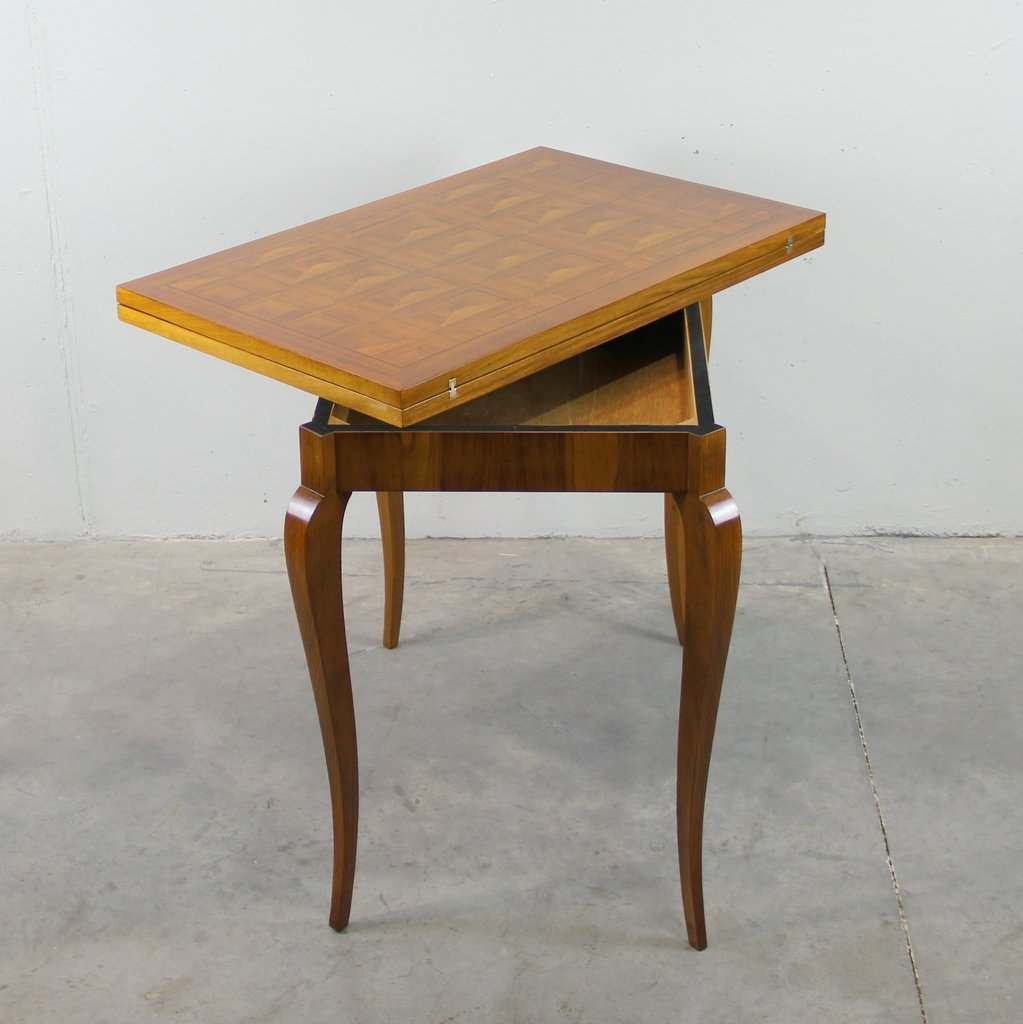 art deco french folding table for sale at pamono. Black Bedroom Furniture Sets. Home Design Ideas