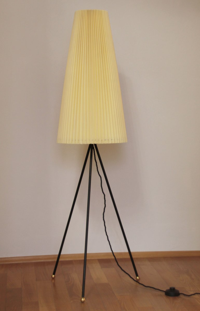 Mid Century German Tripod Floor Lamp 1950s For Sale At Pamono