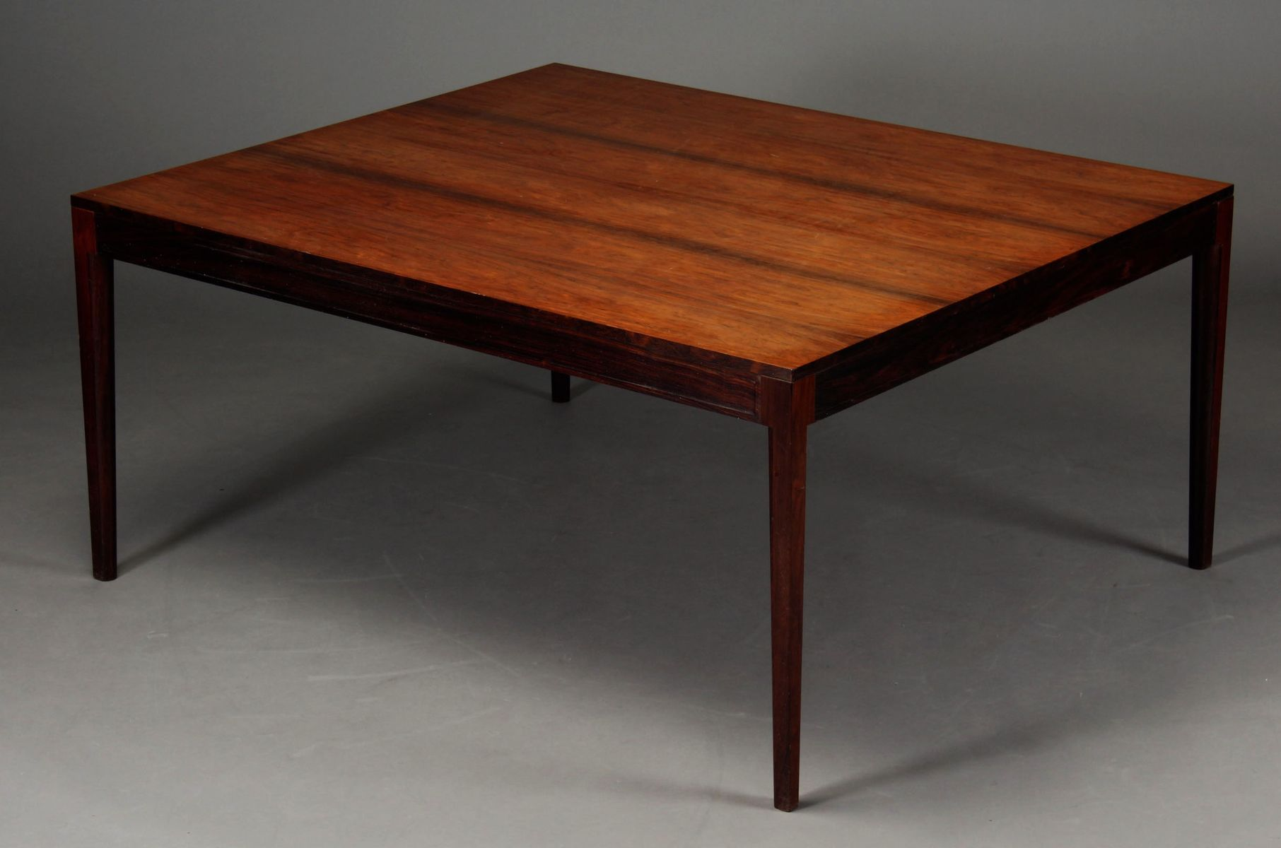Mid Century Rosewood Diplomat Series Dining or Conference Table by