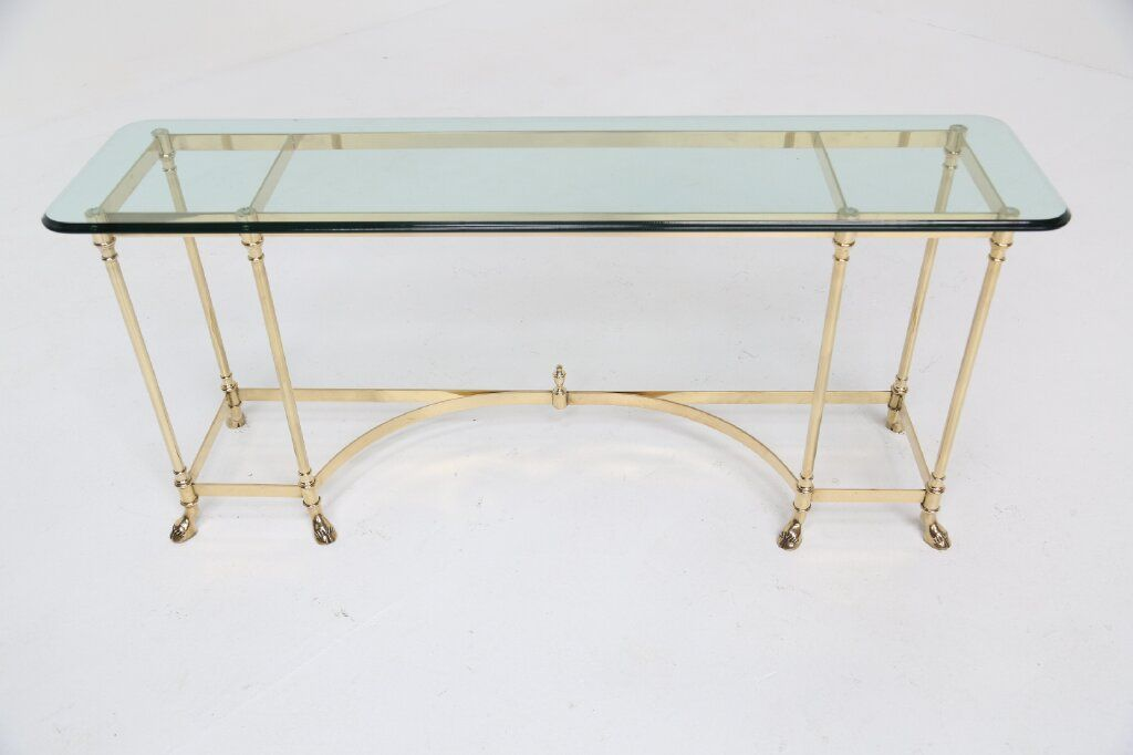 Vintage Console Table By Labarge 1970s
