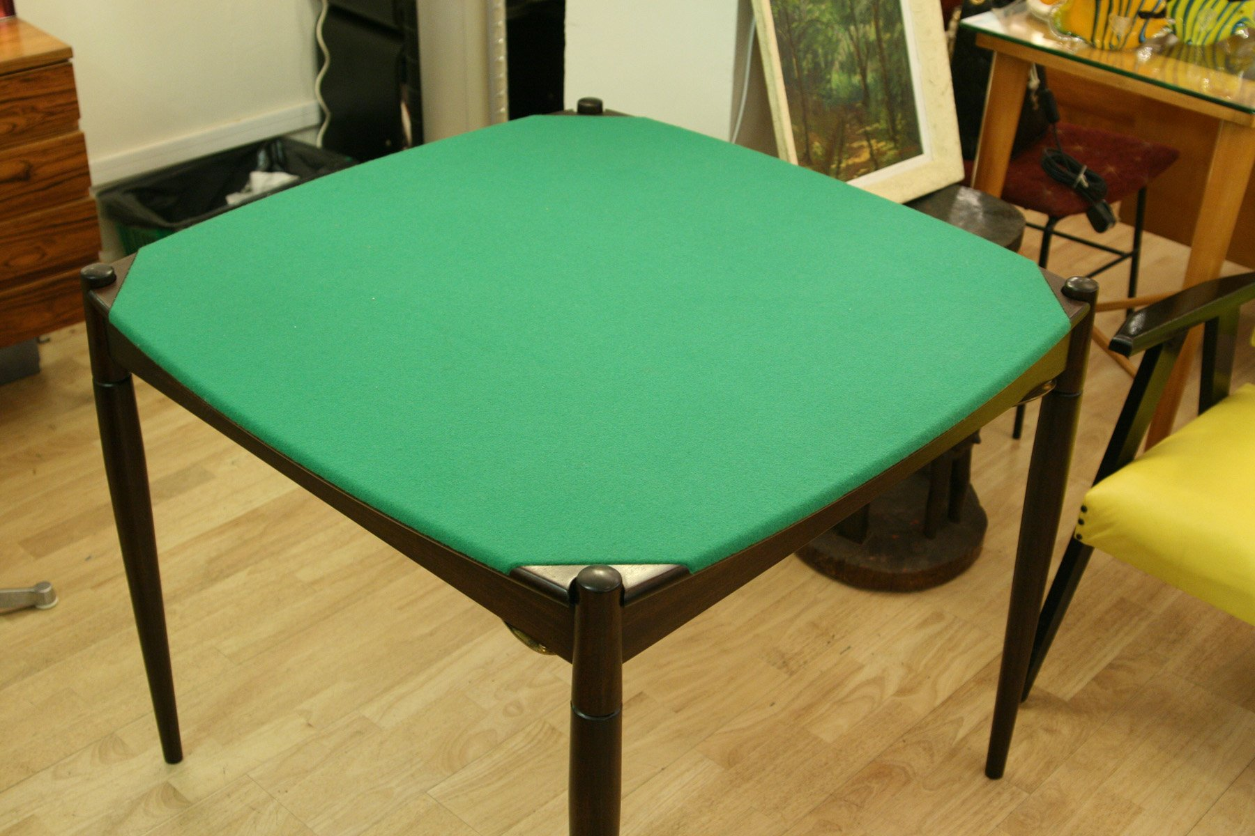Vintage Poker or Dining Table by Gio Ponti for Fratelli Reguitti