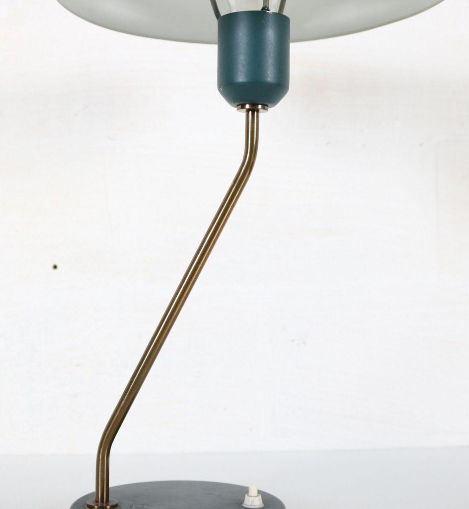 Vintage BlueGreen Desk Lamp by Louis Kalff for Philips for sale – Green Desk Lamp