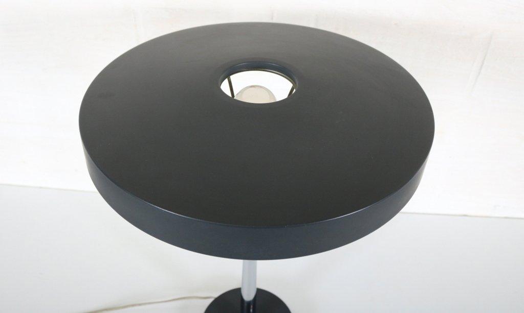 lampe de bureau vintage grise par louis kalff pour philips en vente sur pamono. Black Bedroom Furniture Sets. Home Design Ideas