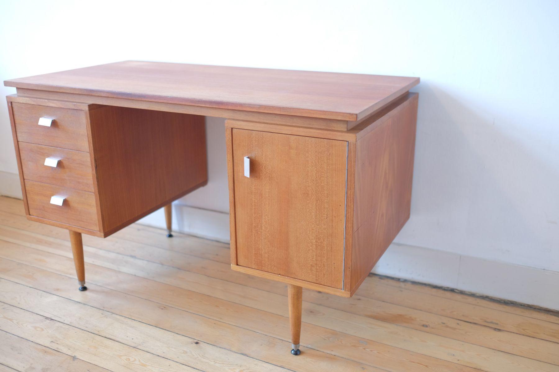 mid century schreibtisch 1970er bei pamono kaufen. Black Bedroom Furniture Sets. Home Design Ideas