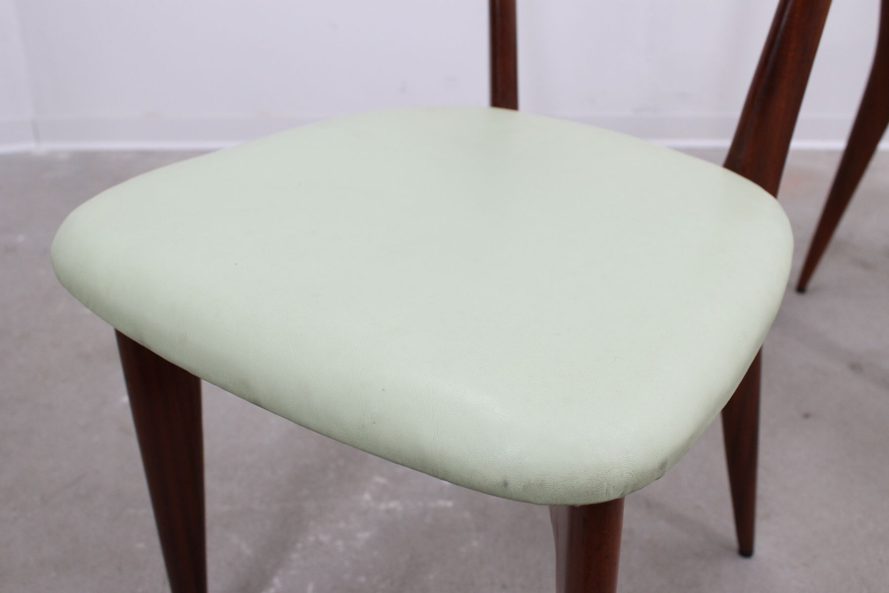 Mid Century Dining Chair by Ico Parisi for sale at Pamono