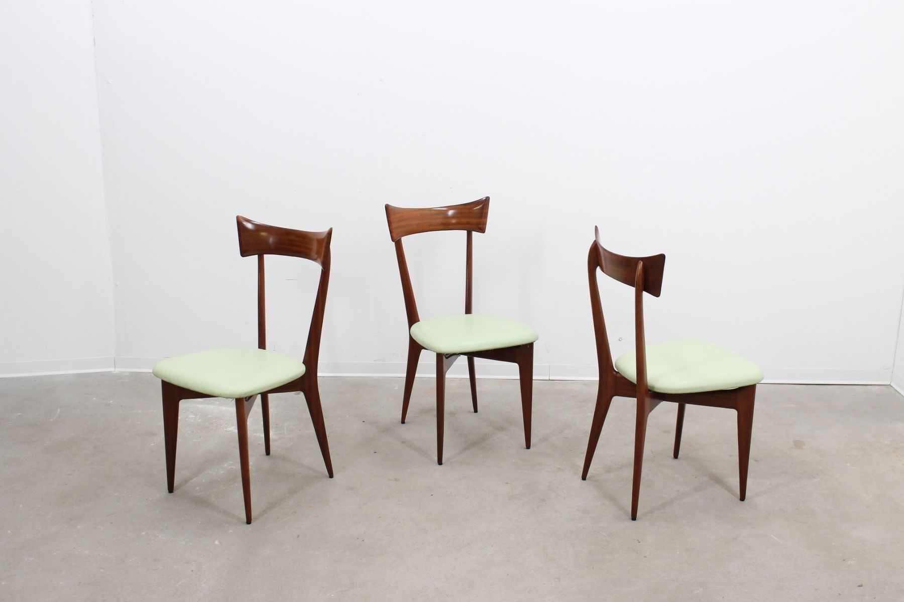 Mid century dining chair by ico parisi for sale at pamono for Z chair mid century