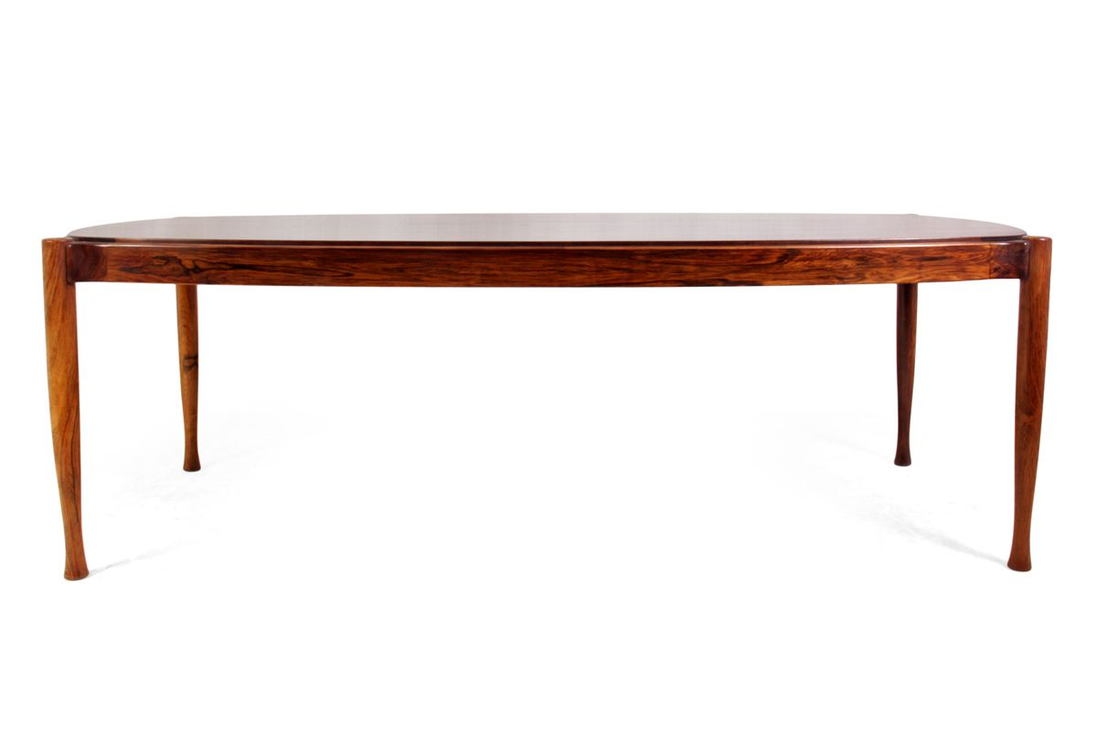 Mid Century Rosewood Timber Coffee Table, 1960s