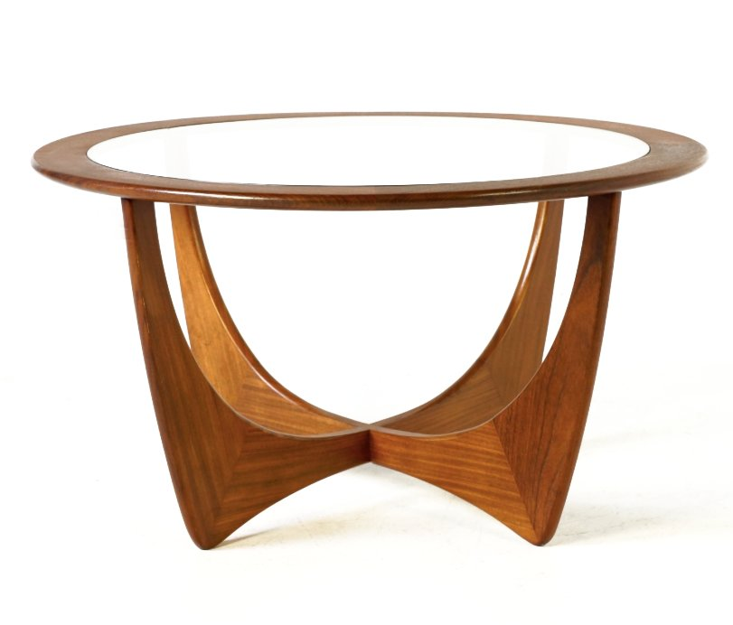 Round Astro Teak Table by Victor Wilkins for G Plan 1960s for