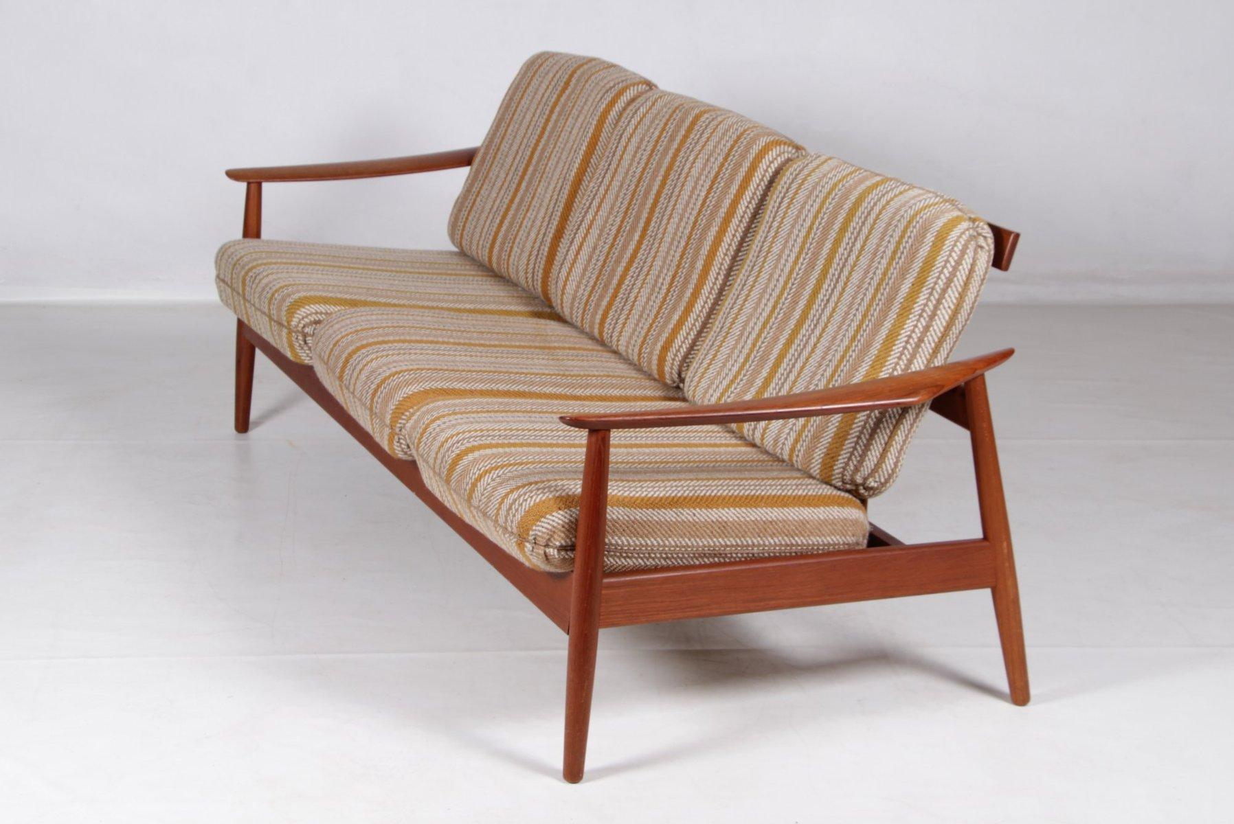 Teak Sofa By Arne Vodder For France Son 1960s For Sale At Pamono