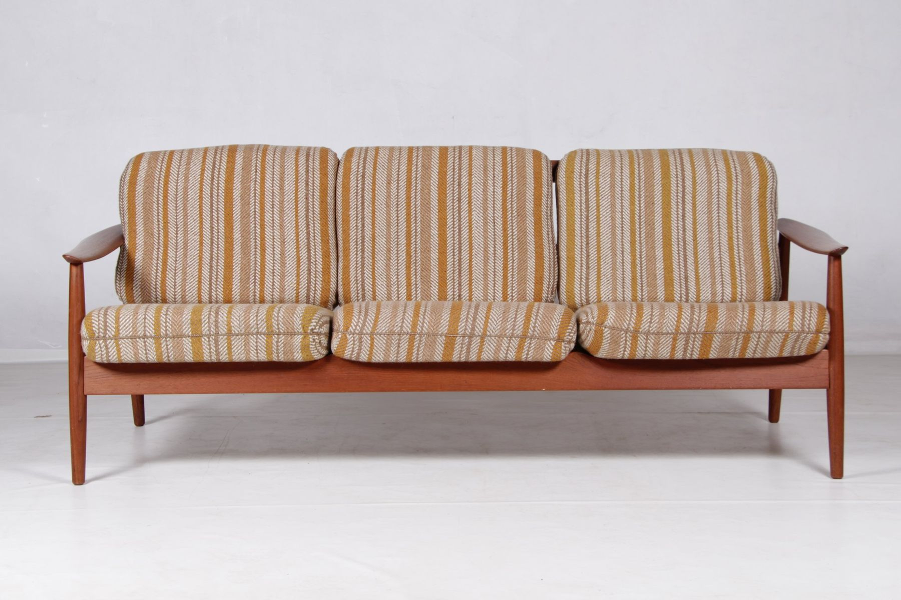 Teak Sofa By Arne Vodder For France Son 1960s