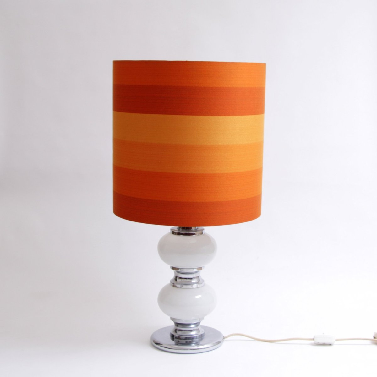 orange vintage floor lamp with illuminated base for sale at pamono - orange vintage floor lamp with illuminated base