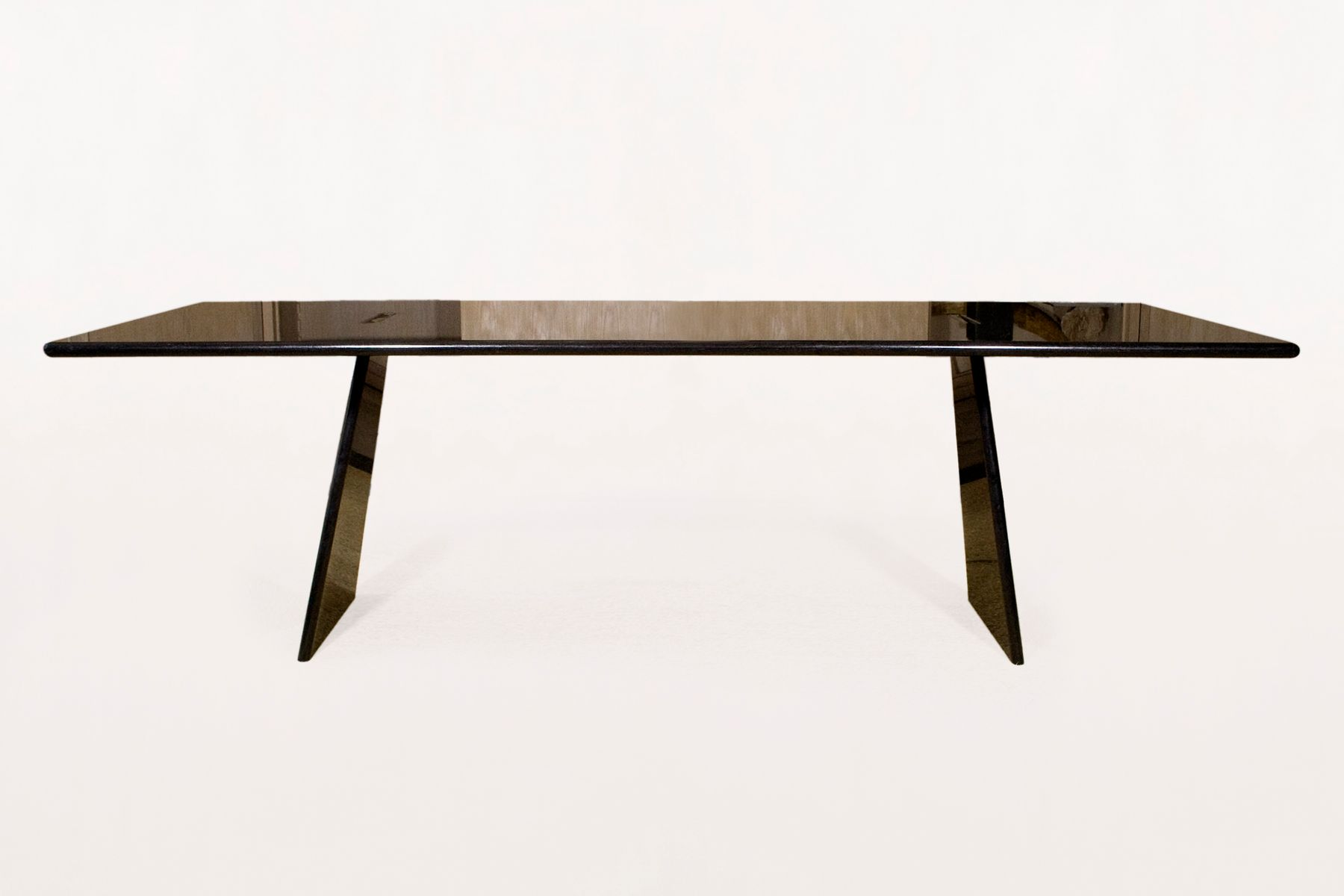 Asolo table in polished black granite by angelo mangiarotti 1990s asolo table in polished black granite by angelo mangiarotti 1990s for sale at pamono geotapseo Image collections