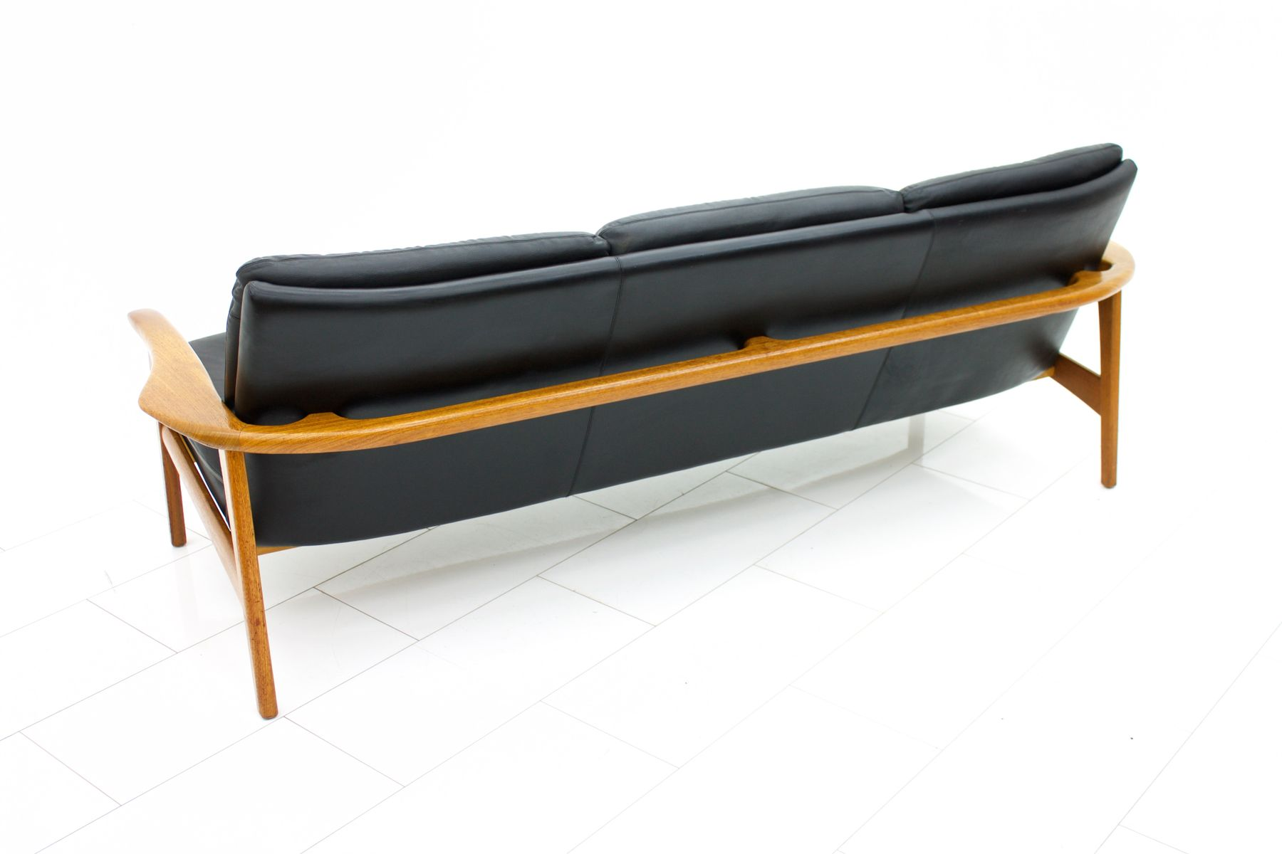 Danish Modern Teak And Leather Sofa, 1960s 9. $5,362.00. Price Per Piece